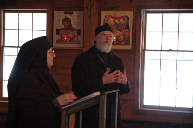 Fr. John reflects on some of the themes Mother Raphaela spoke to.