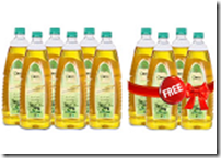 Buy 6 Oleev Olive Oil at Rs. 2023 with 4 Piece FREE Worth Rs. 2600