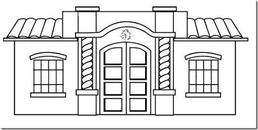 Bancos Para Dibujo Dibujo de Banco Para Colorear
