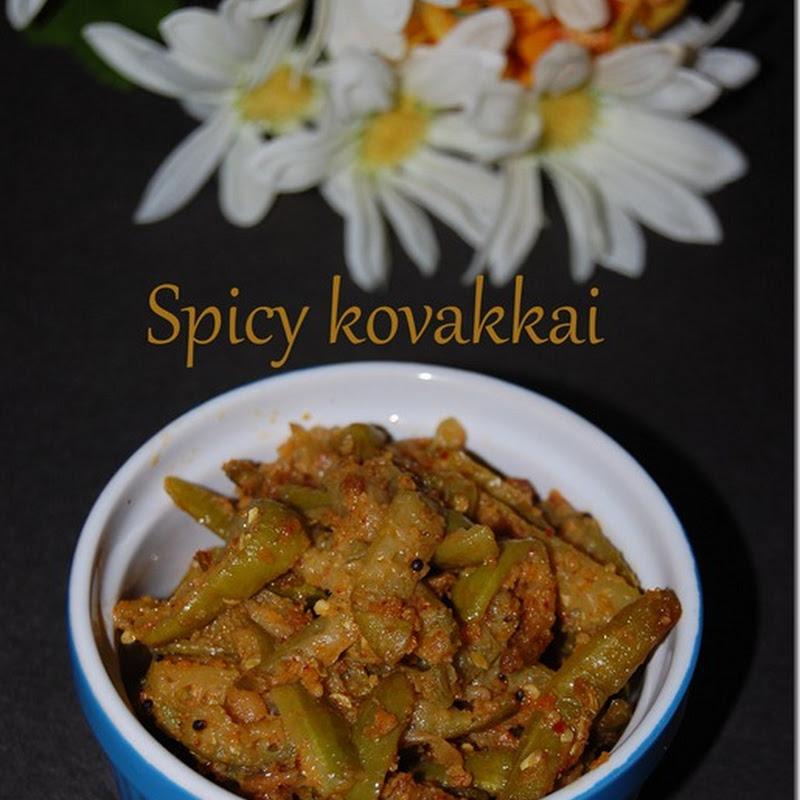 Spicy kovakkai / Tindora
