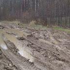 Объездная лесовозная дорога на участке Бурцевка – Шамратово