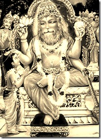 Narasimha and Prahlada