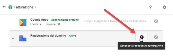 google-apps-fatturazione-carta-credito