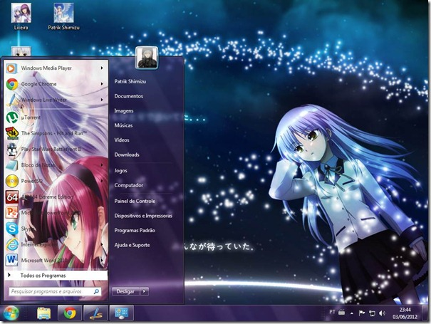 Tema angel Beats 01