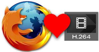 Mozilla Firefox userà il codec proprietario H.264 per i video