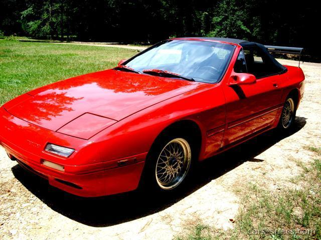 1990 Mazda Rx 7 Convertible Specifications Pictures Prices