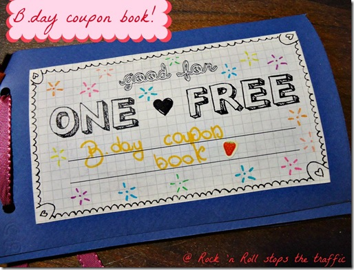 B.day coupon book