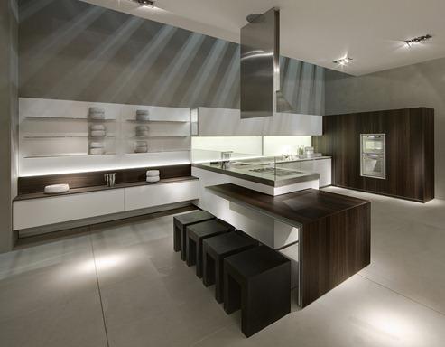 Area de Muebles: Icono: la cocina contemporánea
