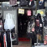 dark goth clothing shop in harajuku in Harajuku, Tokyo, Japan