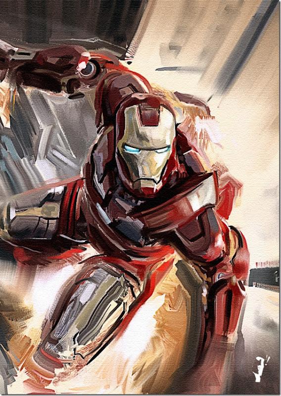 Iron man ,Anthony Edward ,Tony Stark