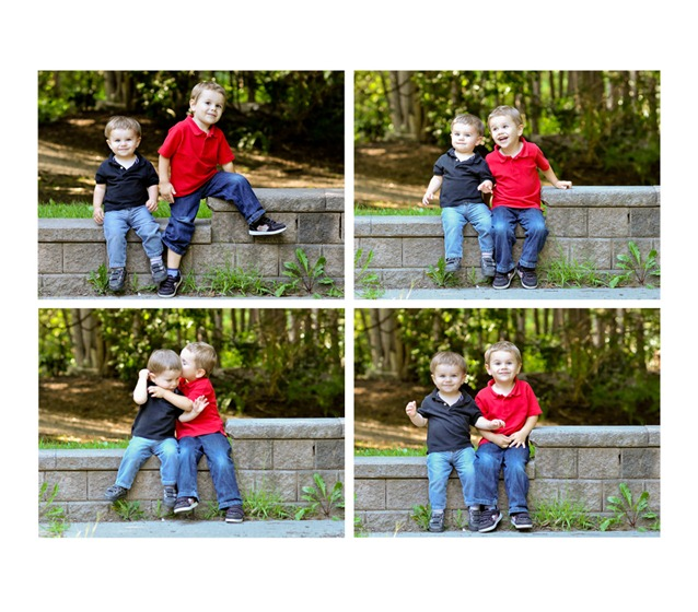 brothers collage