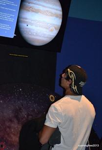 Nicolas studies Jupiter