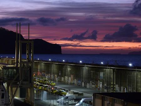 Rasarit de soare in Funchal