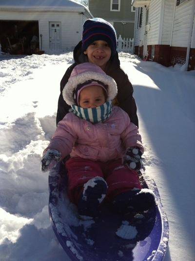 Ellie Bobby snow123012