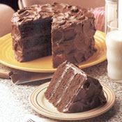 Mile High Choc Cake