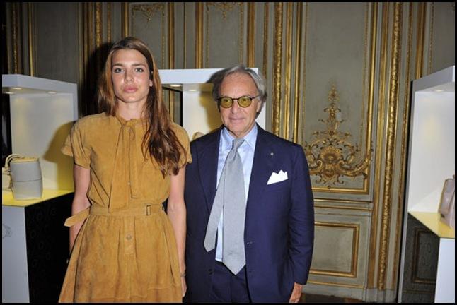 Charlotte Casiraghi;Diego Della Valle