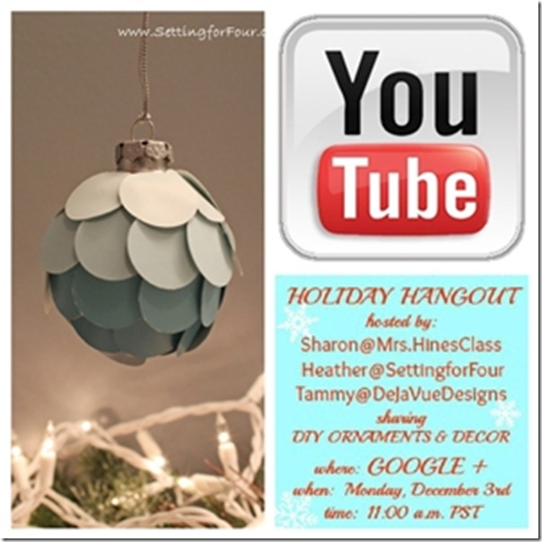 DIY Ombre Ornament Video Tutorial from Setting for Four #DIY #Christmas #Holiday #Ornament #Video #Ombre