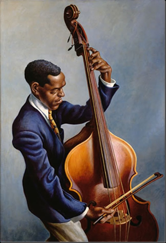 1949 Portrait of a Musician casein, tempera & oil varnish on canvas
