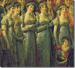 Les sœurs de Napoléon au sacre de 1804 à Notre-Dame de Paris