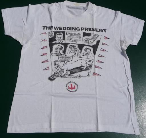 The Wedding Present, comic