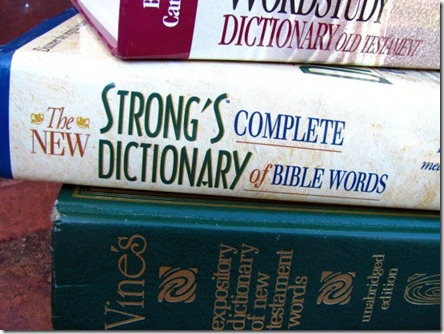 Bible-dictionaries