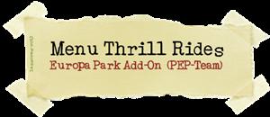 Menu Thrill Rides (PEP-Team) lassoares-rct3