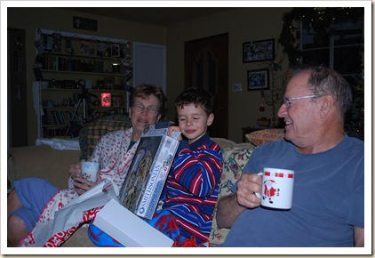 e Grammie and papa