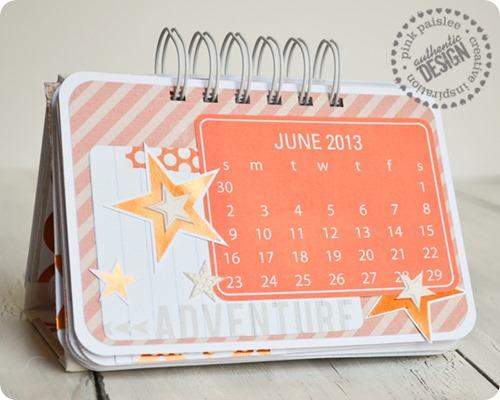 Standing-calendar
