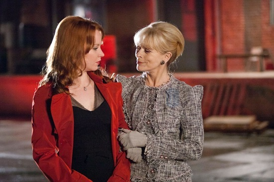 Lauren Ambrose is Jilly Kitzinger and Mother Colasanto is played by Frances Fisher
