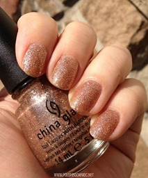China Glaze Champagne Kisses 7