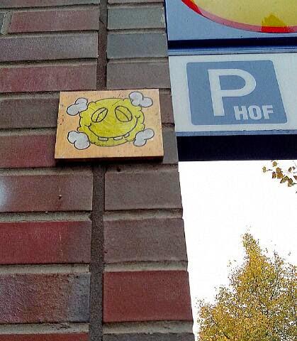 Kachel Street Art Altonaer Strasse