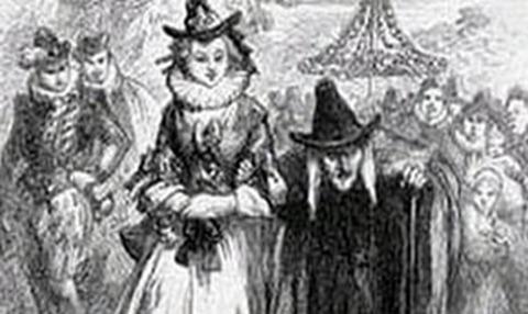 Anne Redferne y su madre Chattox fueron dos de las acusadas de ser brujas de Pendle.