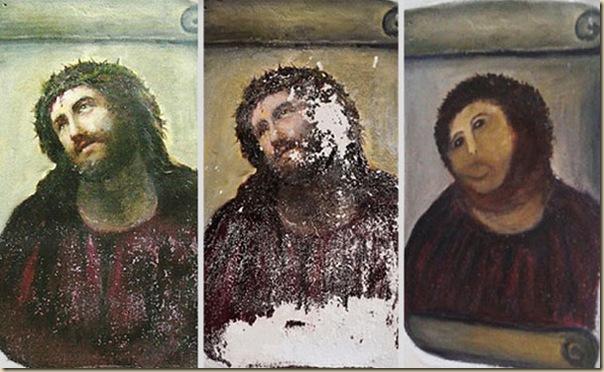 Ecce Homo  le Christ de Borja_parodie-restauration (1)