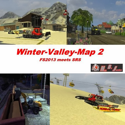 Farming simulator 2013 - Winter snow map valley2 edition v 2.0