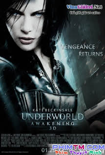 Nữ Chiến Binh Ma - Thế Giới Ngầm 4 - Underworld Awakening