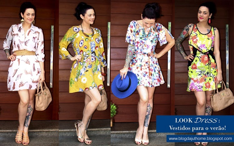 LOOK DRESS VESTIDOS VERÃO 2015