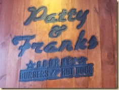 Patty & Franks Sign