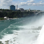 Niagara Falls USA view in Niagara Falls, New York, United States