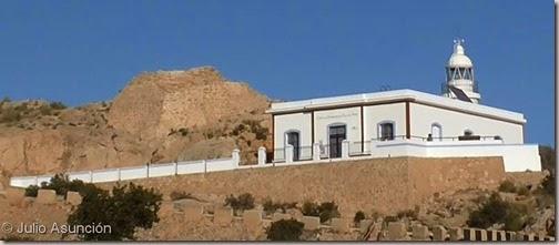 Faro del Albir y torre bombarda - Sierra Helada