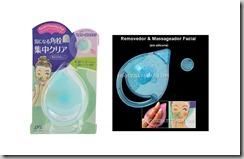 Removedor e Massageador Facial em silicone