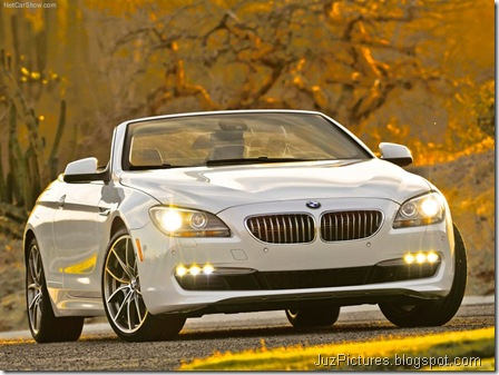 BMW 650i Convertible 5