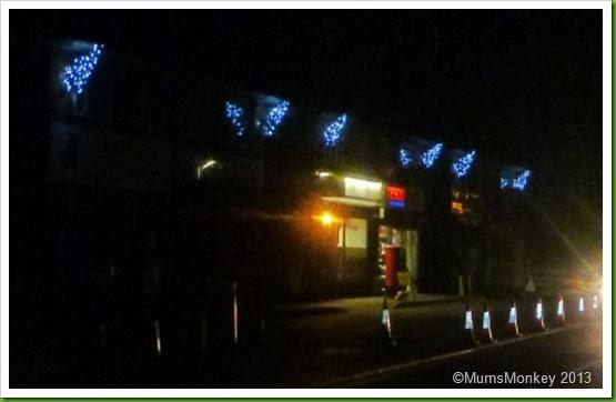 Street Christmas Trees
