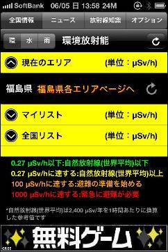 放射線チェッカー