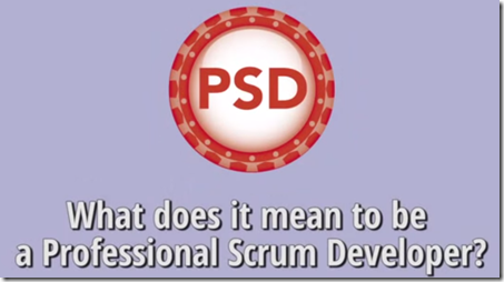 What does it mean to be a Professional Scrum Developer?