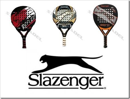 Slazenger modelos padel 2014