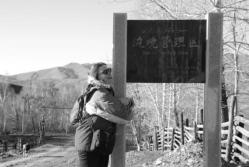 Xinjiang, Baihaba - Frontière avec le Pakistan