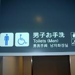 toilets for men in Chiba, Tokyo, Japan