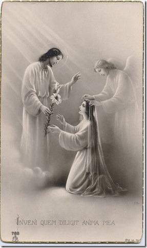Oração ao vestir o véu