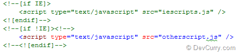 Conditional JavaScript