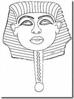 mascara egioto manualidades (1)